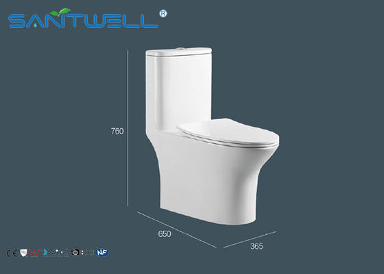 China Enig toilet/1 PC-ruimte Washdwon van de Toilet Economische stoom fabriek