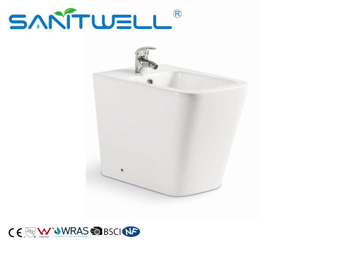 Floor Standing Mount Toilette Bidet  White Ceramic Unique Comfortable Durable
